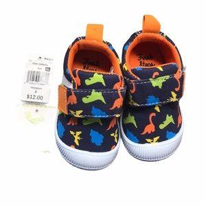 First Steps dinosaur shoes tennis prewalker 4